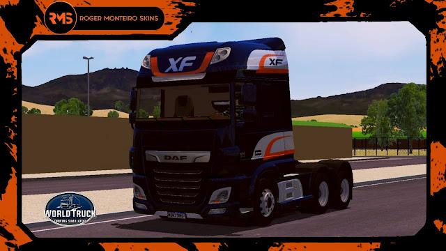 Daf XF, Skins Daf, Wtds, Skins Wtds, Skins World Truck