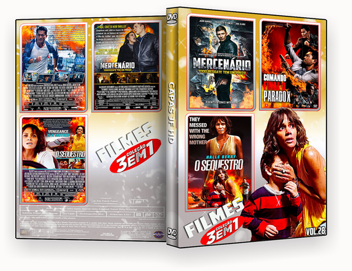 CAPA DVD – COLEÇÃO FILMES 3X1 VOL 28 – ISO
