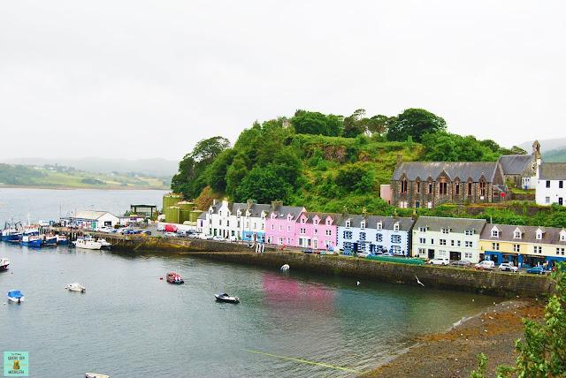Portree, isla de Skye (Escocia)