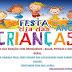 Neste Sábado dia 12, acontece a Festa do dia das Crianças, ano VII. Colabore com esse grande momento
