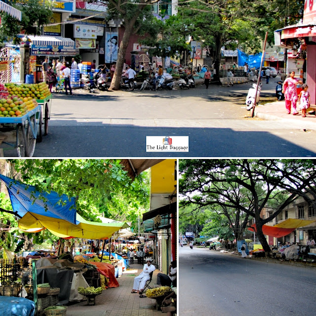 Gandhi Bazaar and DVG Road