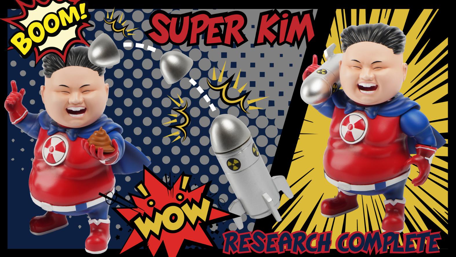 最膠領導人系列第二彈!「Super Kim金仔超人」4.5吋迷你可動人偶by Stingrayz - Toys Zone D 玩具兄弟 -Figures Price List ...