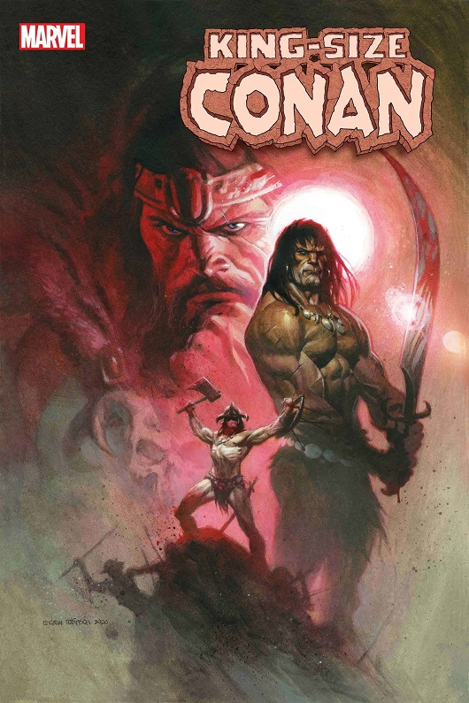 Cover of King Size Conan #1