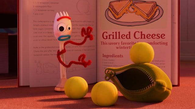 Forky Asks a Question What is Grilled Cheese?