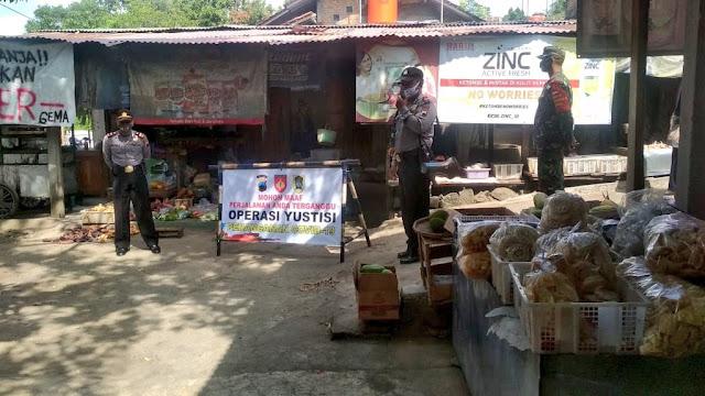 Operasi Yustisi Oleh Tim Gugus Pencegahan Covid-19 Di Kecamatan Manisrenggo