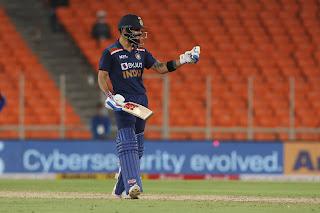 Virat Kohli 77* vs England Highlights