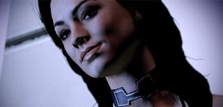 Mass Effect мирана улыбается