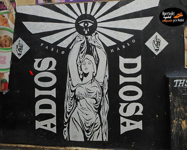 Aprende español callejeando por Madrid: Sopa de letras