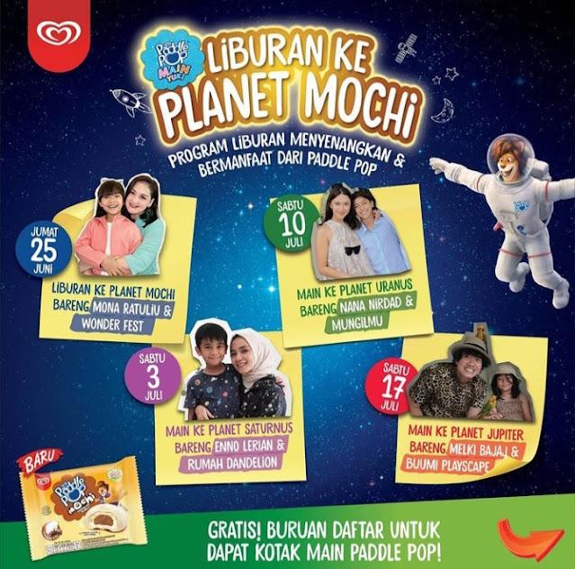 Poster Liburan ke Planet Mochi