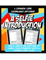 A Selfie Introduction Activity by Instructimania
