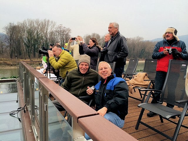 Look at all these #CruiseSmiles as we sail down the blue Danube!