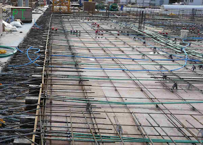 pre tensioning of concrete