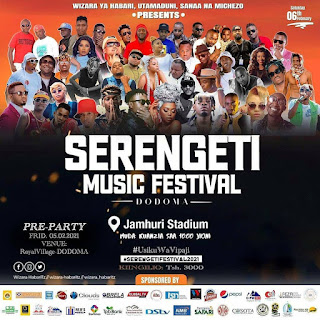 SERENGETI MUSIC FESTIVAL DODOMA - JAMHURI STADIUM