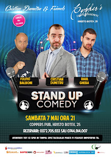 Stand-Up Comedy Sambata 7 mai Bucuresti