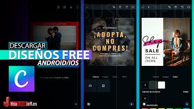 Como Crear Diseños Increíbles, Descargar Canva para Android o iOS