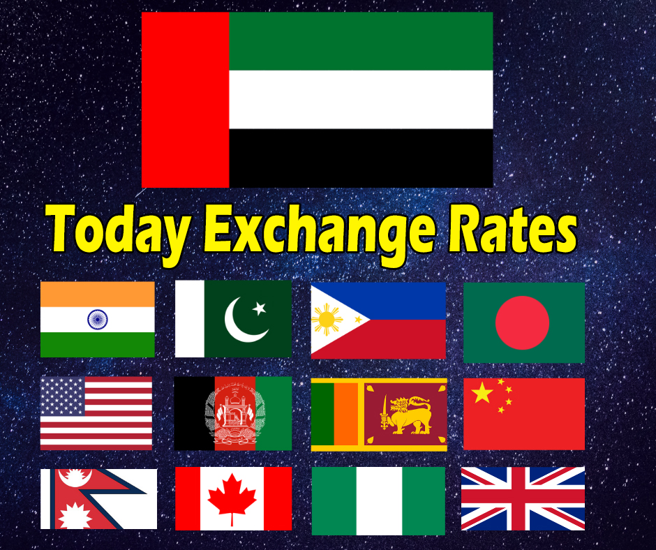 Uae Exchange Rate And Currency Converter Uae Labours Blog