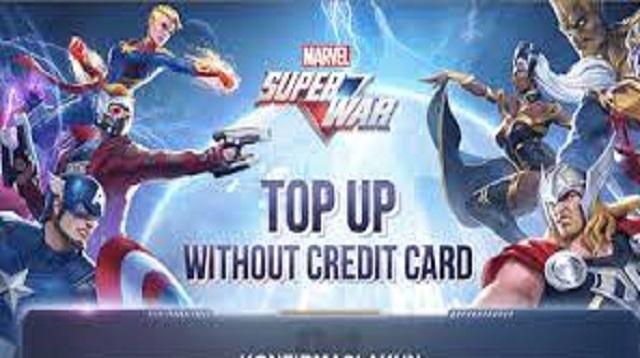 Cara Top Up Marvel Super War