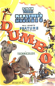 Poster Of Dumbo (1941) In Hindi English Dual Audio 300MB Compressed Small Size Pc Movie Free Download Only At worldfree4u.com