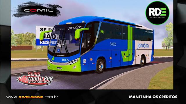 COMIL 1200 4X2 - VIAÇÃO JANUÁRIA TRANSPORTE E TURISMO