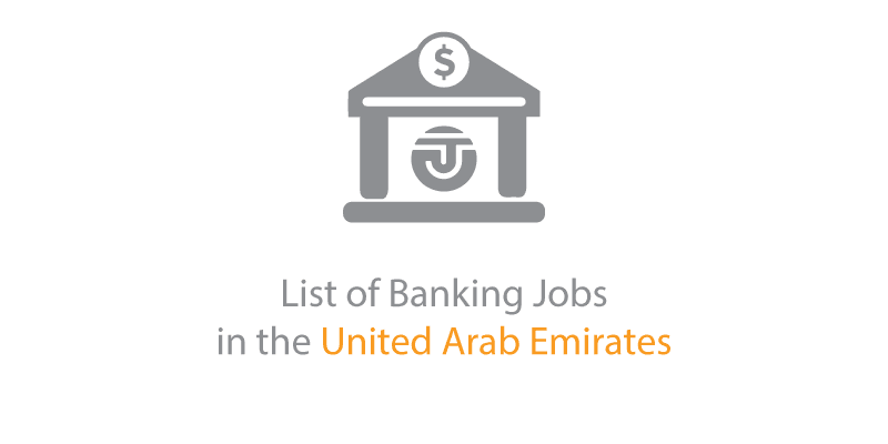 List of Banking Jobs in the UAE