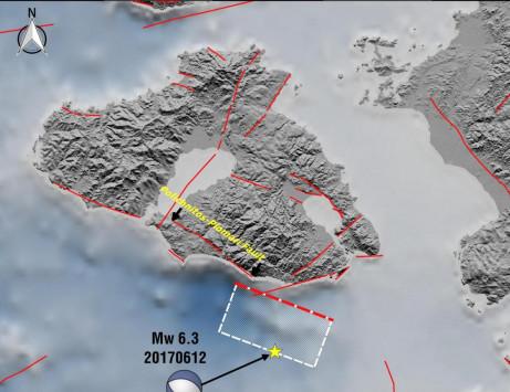 Απίστευτο! Η Λέσβος απομακρύνθηκε 4,4 εκατοστά από την Χίο λόγω του σεισμού