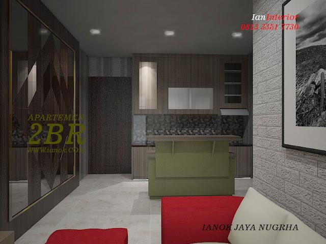 Kitchen set Meubel interior apartemen Surabaya Sidoarjo