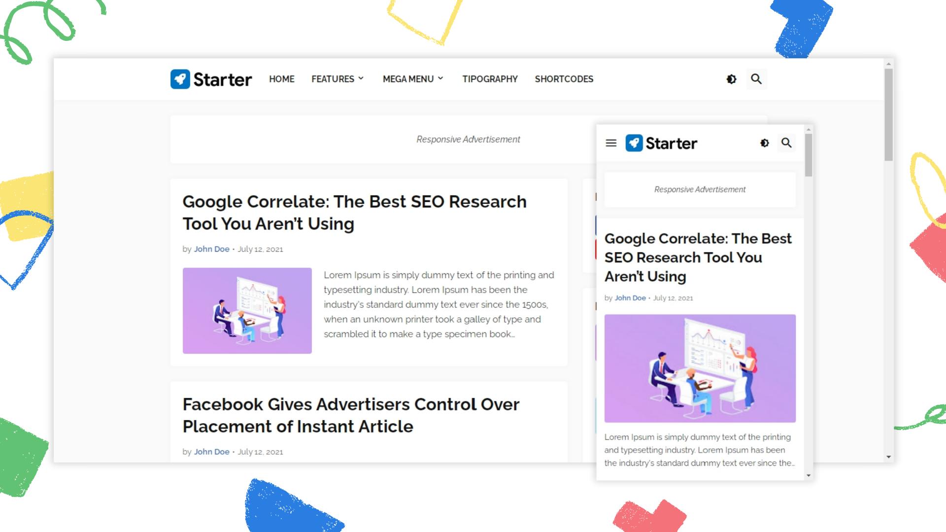 starter-responsive-blogger-template