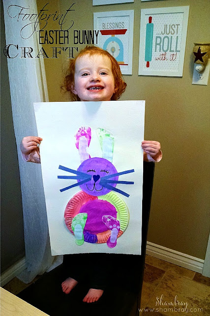 Are you looking for a an easy Easter craft for kids?  Check out this fun project.  Kids will love it.
