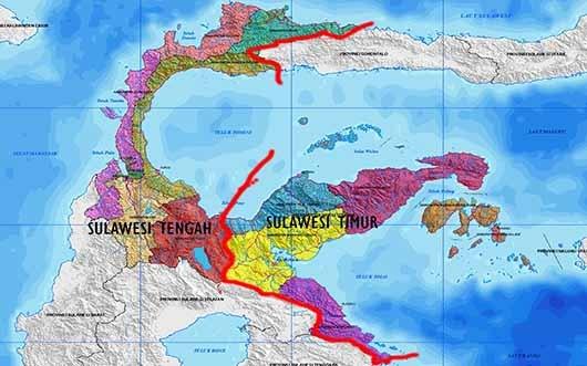 Resmi : Sulteng Lepas 5 Kabupaten Ini Untuk Membentuk Sultim