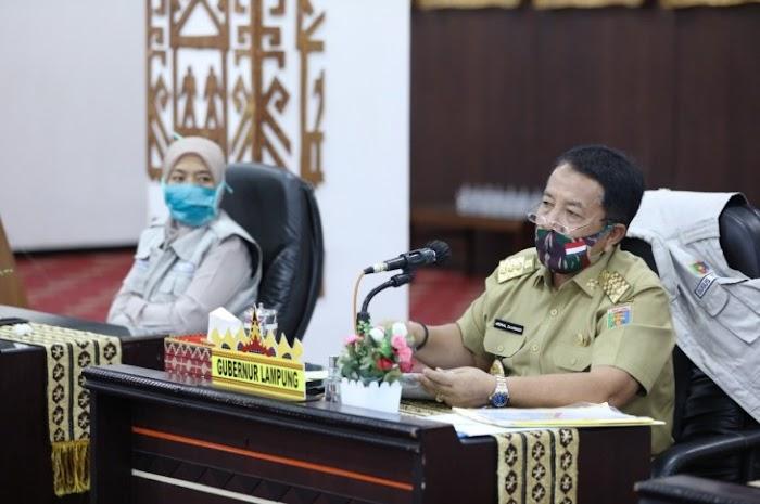 Gubernur Lampung Sinergikan Langkah-Langkah Penanganan Covid-19