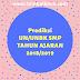 PREDIKSI SOAL UN/UNBK BAHASA INDONESIA SMP TH 2019