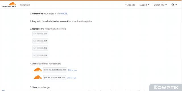 Cara Mengarahkan Domain (TLD Blogspot) ke Cloudflare