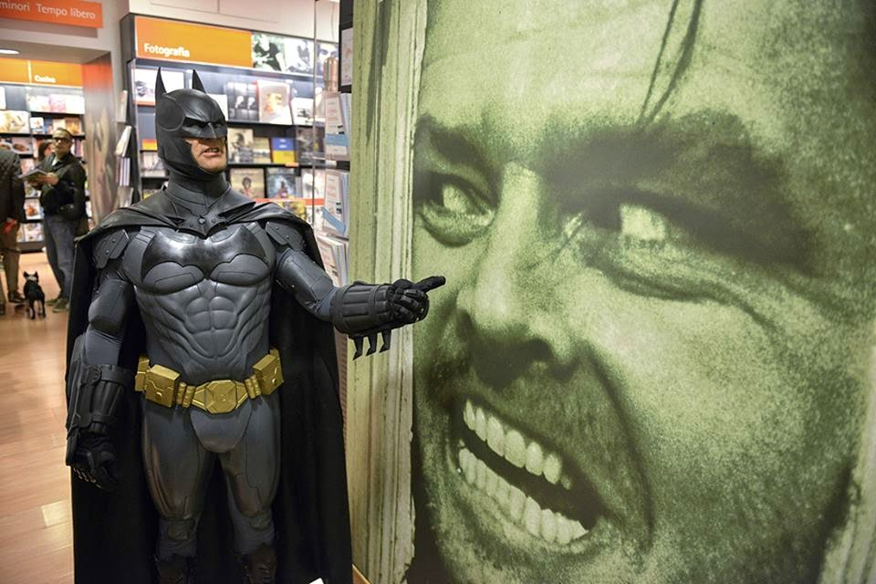 Gotham Shadow Cosplay - Batman and Jack Nicholson