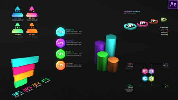 Videohive - Infographic Dynamic Graphs 28812999