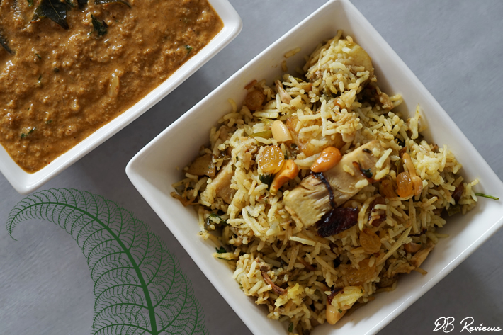 Chef Akila's Vegetarian and Vegan Curries - Jackfruit Biryani