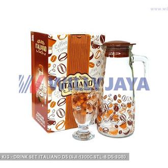 KEDAUNG/ KIG - DRINK SET ITALIANO D5 (SJI-1300C.STL-8/D5-3GB)
