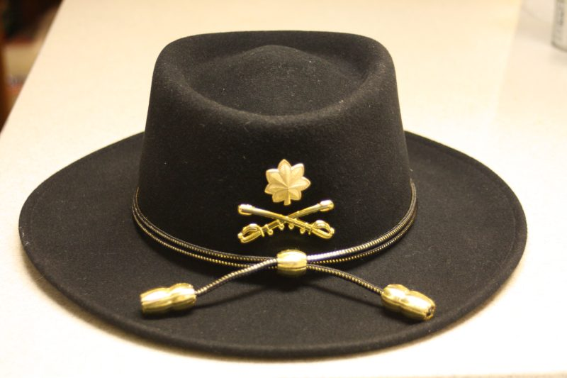 It was time to build my Cavalry hat. I clicked on the US Cavalry Store and  found the proper brass and hat cord. ab5bd98679f