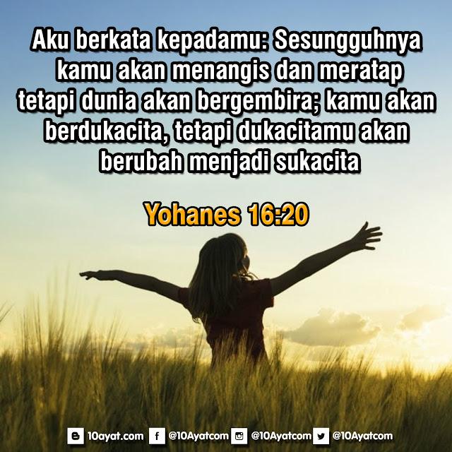 Yohanes16:20