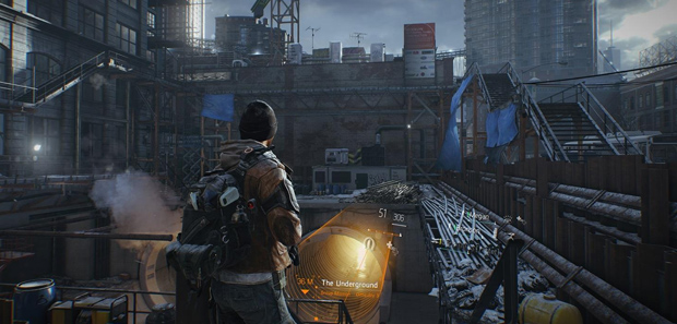The Division Screens Show Combat & Hud