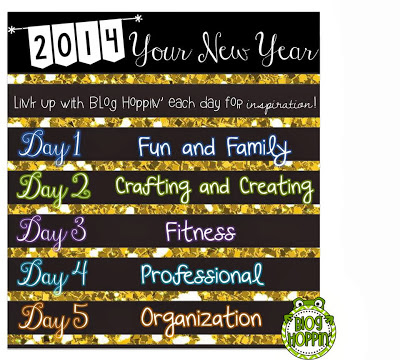 2014 New Year Day Two: Crafting and Creating