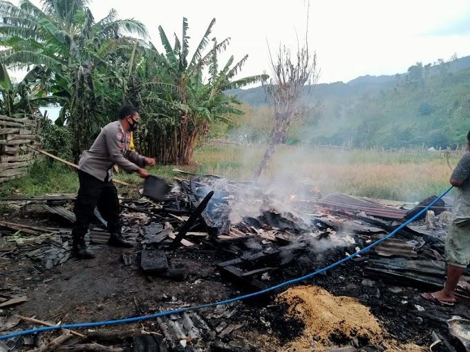 Lagi, Satu Unit Rumah Di Desa Woko, Ludes Terbakar