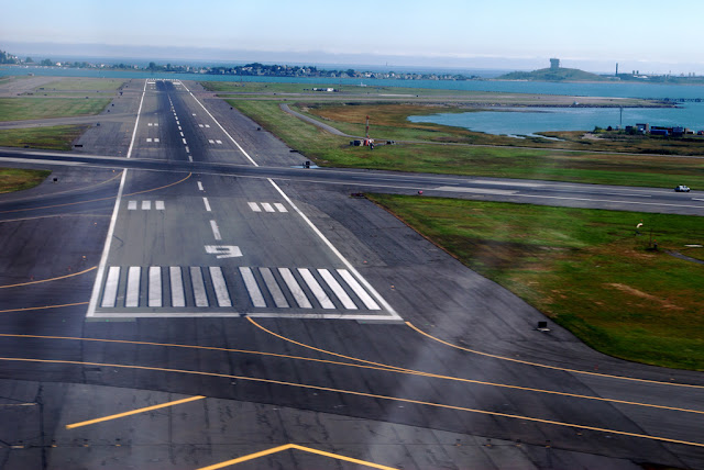 What do numbers on the runway mean?