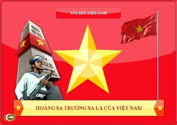 """""""Tôi yêu Việt Nam"""" và cách thể hiện"""