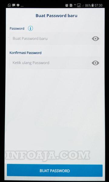 buat password mandiri online