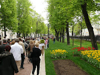 Promenade in Moscow 2012