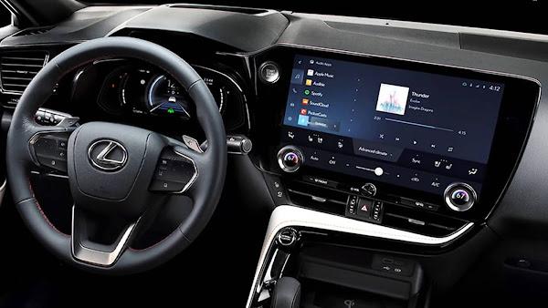 Novo Lexus NX 2022
