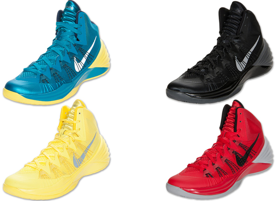 reputable site 2089a 5c910 Nike Hyperdunk 2013 Four Colorways Now Available