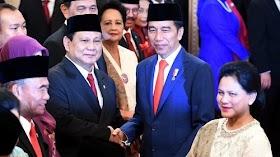 Inilah Alasan Presiden Jokowi Memilih Prabowo Sebagai Menham