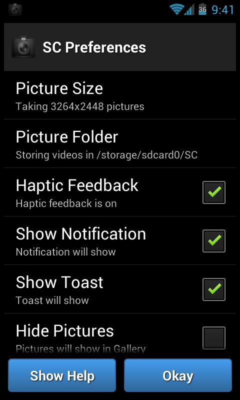 Secret Camera App
