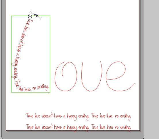 Silhouette tutorial, Silhouette Studio, shape, letter, word, script
